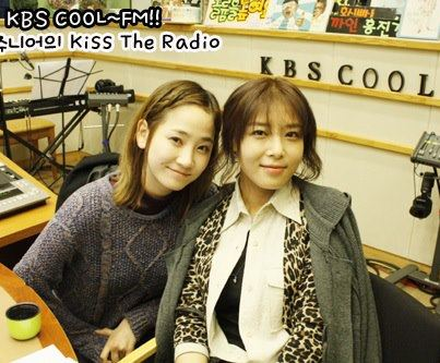 Yeeun & Yubin @ KBS KISS THE RADIO06