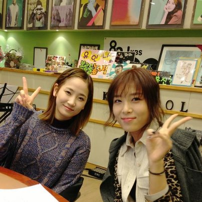 Yeeun & Yubin @ KBS KISS THE RADIO