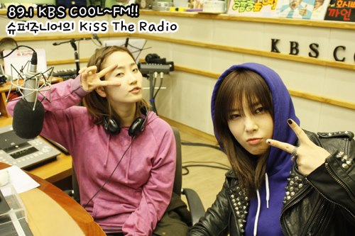 Yeeun & Yubin @ KBS KISS THE RADIO10