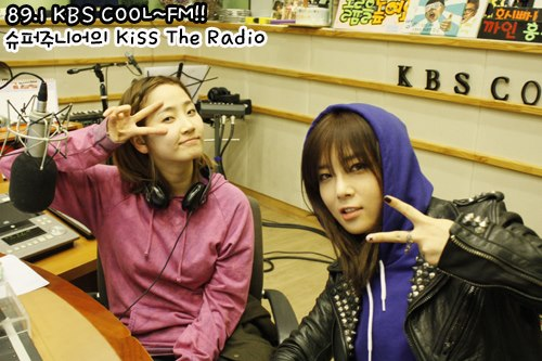 Yeeun & Yubin @ KBS KISS THE RADIO13