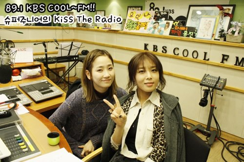 Yeeun & Yubin @ KBS KISS THE RADIO4