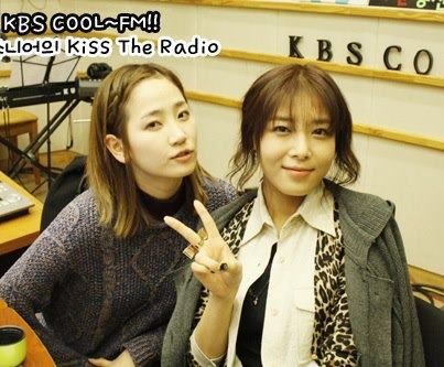Yeeun & Yubin @ KBS KISS THE RADIO5