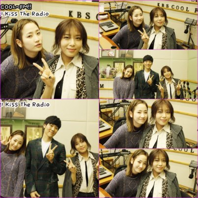 Yeeun & Yubin @ KBS KISS THE RADIO8