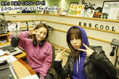 Yeeun & Yubin @ KBS KISS THE RADIO9